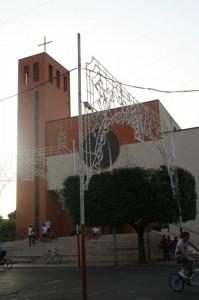 La moderna chiesa di Marconia