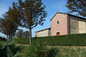 Chiesa di Villabianca - Marano S. P. - (MO) Vista laterale