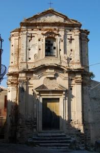 Gerace: Chiesa in rovina