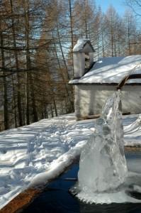 Fontana gelata e chiesa di San Gaetano a Dalico