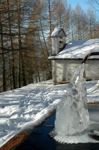 Chiuro - Fontana gelata e chiesa di San Gaetano a Dalico