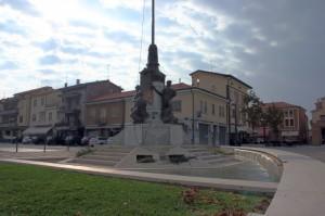 Fontana dedicata ai Caduti