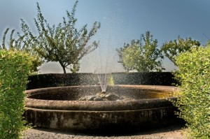 Fontana dei giardini di Ferdinandopoli