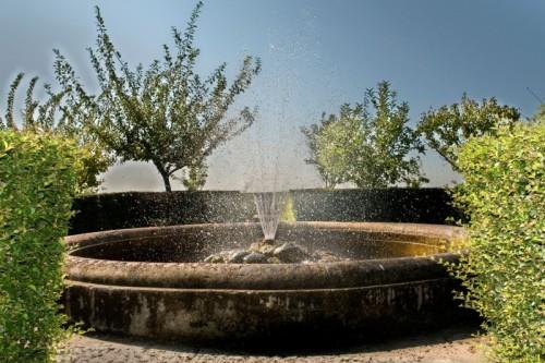 Caserta - Fontana dei giardini di Ferdinandopoli