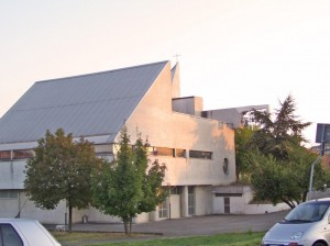 chiesa moderna in Tortona (AL)