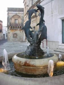 Fontana dei Delfini in P.zza S.Vito