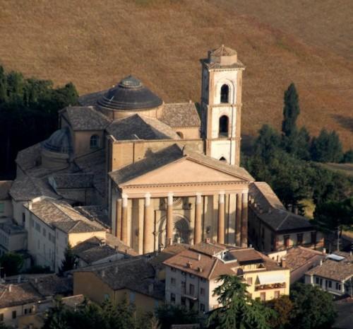 Camerino - caldi colori settembrini, Cattedrale di Camerino