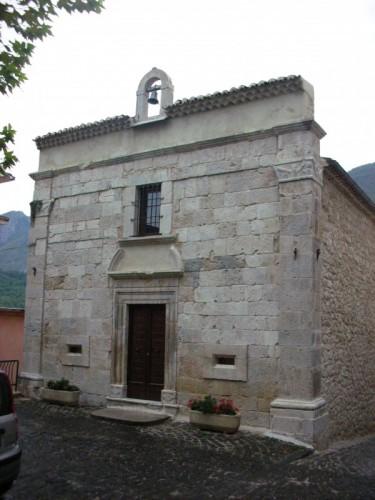Pizzone - Cappella di Santa Liberata