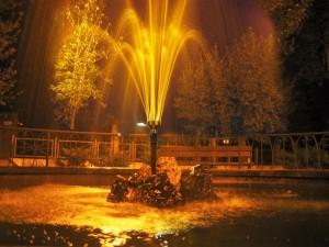 Fontana in the night