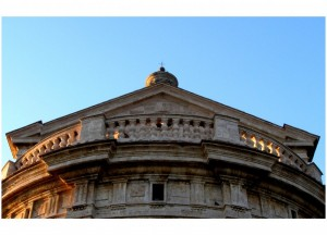 il timpano e l'abside