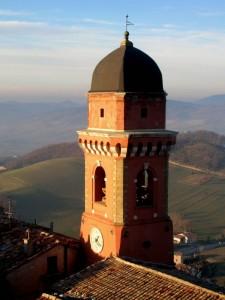 il campanile e la campagna