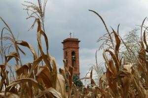 Il campanile di San Pietro in Viottoli