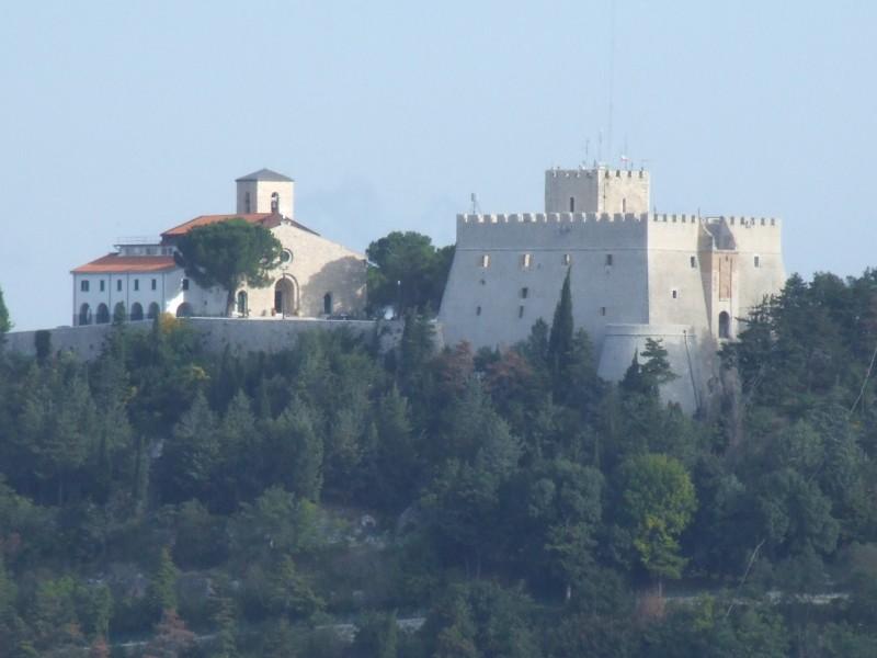 ''Santuario di Maria SS. Incoronata del Monte e castel Monforte'' - Campobasso