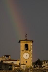 Il campanile di Santa Maria della Pietà