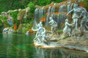 Fontana della Dea Diana tra le ninfe