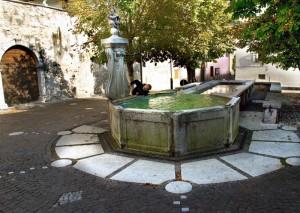 Fontana e lavatoio