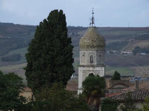 Fragneto Monforte - Campanile della chiesa di San Nicola