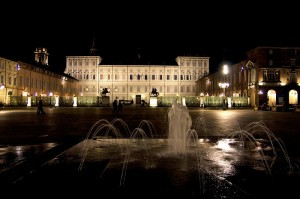 Fontana in piazza castello