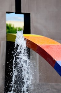 Fontana presso centro commerciale 1