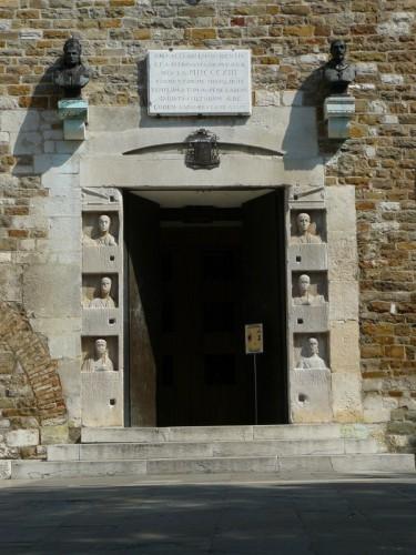 Trieste - Portale Cattedrale di San Giusto
