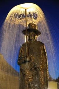 L'omino della pioggia di Folon - Firenze
