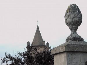 Veduta del campanile della Chiesa di Campiglio - Vignola (MO)