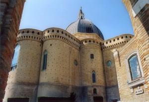 Chiesa di Loreto vista da dietro