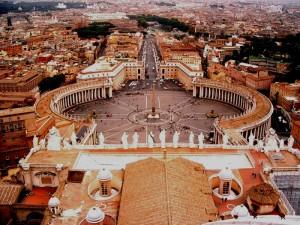 Roma… dalla Cappella Sistina