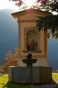 fontana di Stenico vicino al Rì bianco