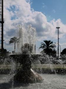 la fontana  e il cielo