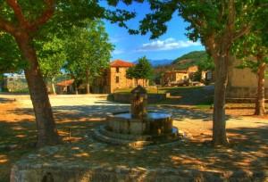 Fontana al centro di Roscino vecchio