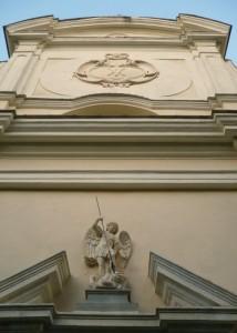 Facciata della Chiesa di Trebiano