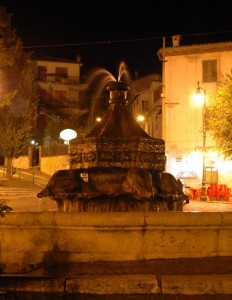 Anticoli Corrado - Fontana Piazza delle Ville