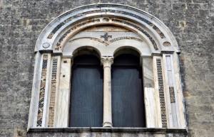 Tarquinia - Santa Maria in Castello (particolare)
