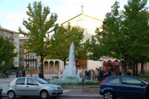 Fontana a piazza Loreto