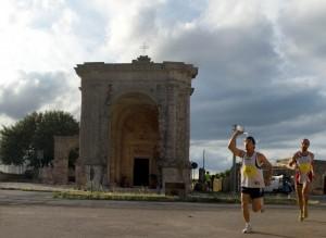 Maratona sull'antica strada dei pellegrini