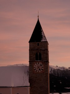 campanile della chiesa di Maranza