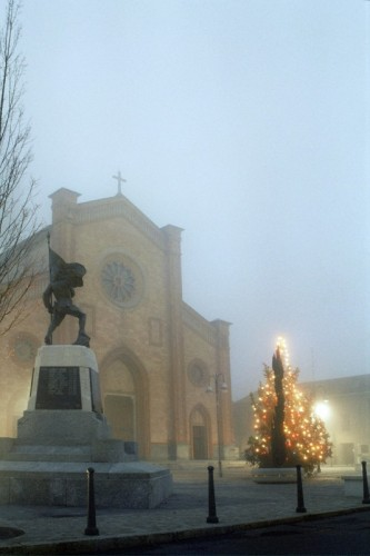 Villa Cortese - natale con la nebbia