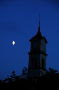 Maiatico - La Chiesetta sotto la luna