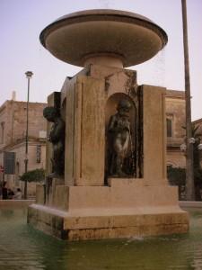 Fontana in P.zza A. Tamburino