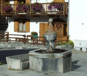 fontana di Cesana Torinese