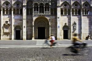 Duomo con biciclette