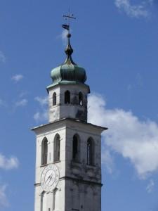 Il campanile di Sedico