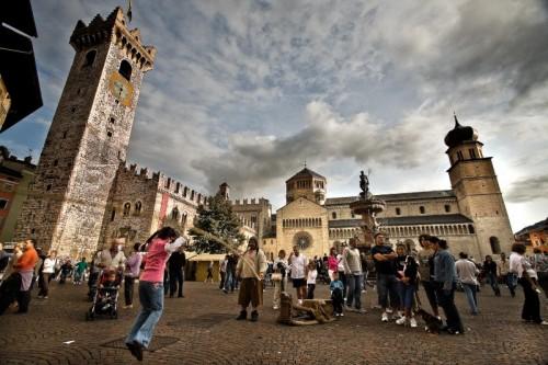 Trento - La piazza che vive