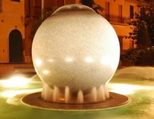 Fontana con palla