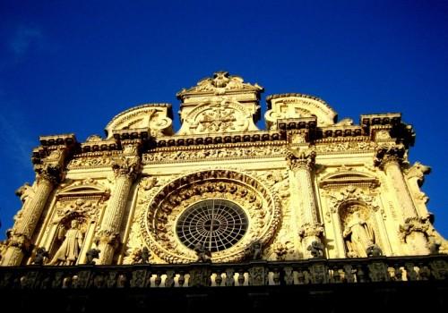 Lecce - Santa Croce al tramonto
