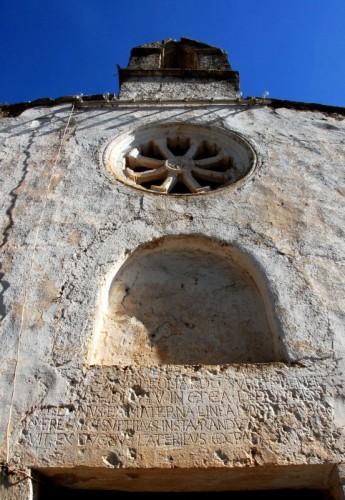 Corigliano d'Otranto - Antica iscrizione