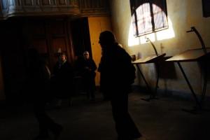 Ombre in Chiesa