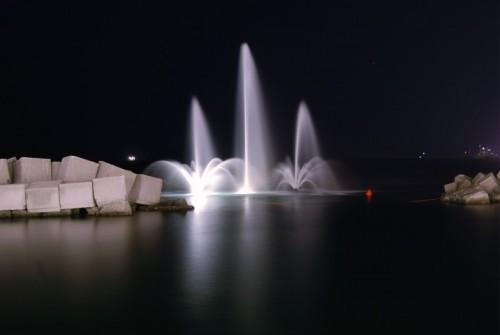 """Salerno - """"fontana a mare"""" lungomare - Salerno"""