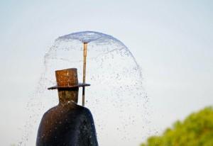 Folon L'uomo della pioggia 1